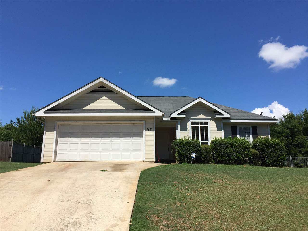 115 RIDGE BEND DRIVE, WARNER ROBINS, GA 31093