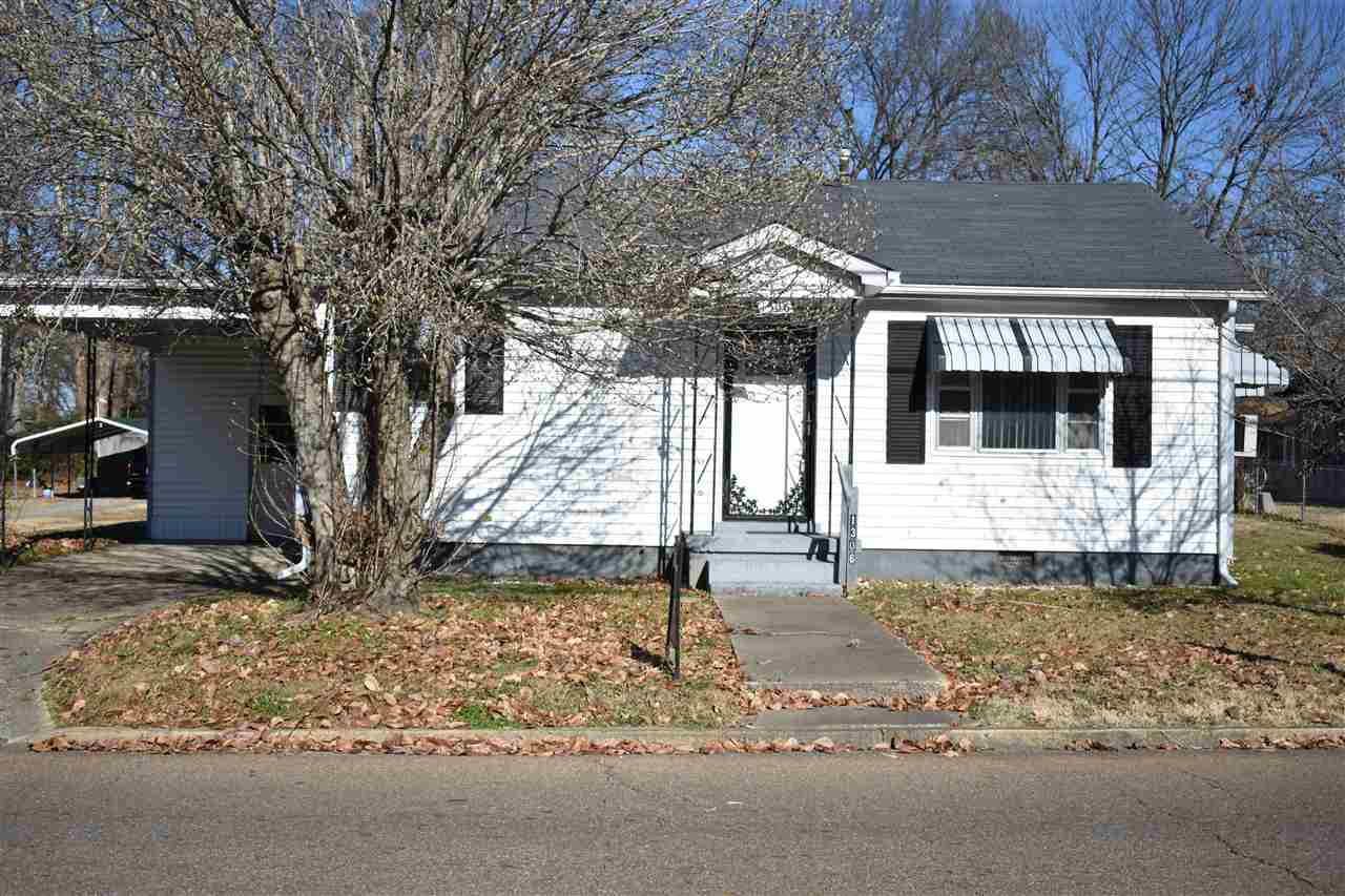 1306 Hornbrook,Dyersburg,Tennessee 38024-4306,2 Bedrooms Bedrooms,1 BathroomBathrooms,Residential,1306 Hornbrook,180909