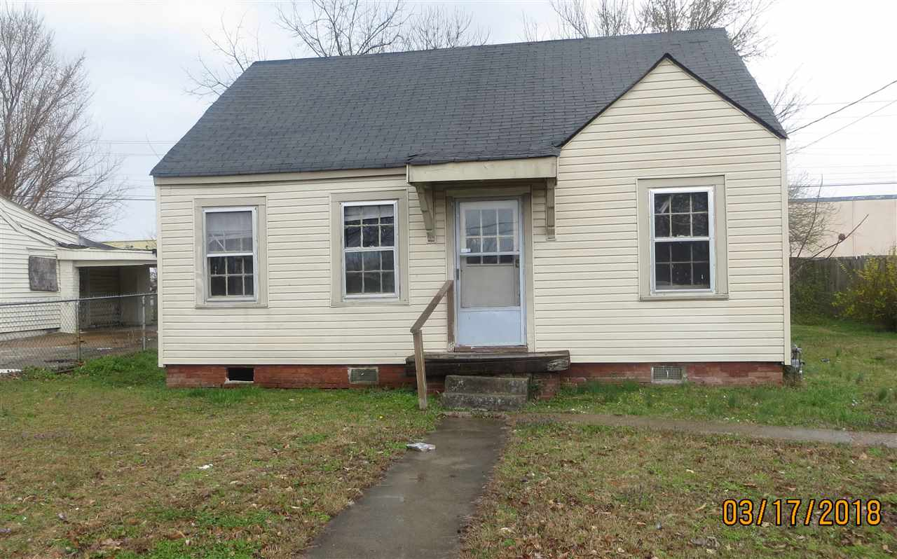 118 Griffin,Jackson,Tennessee 38301,2 Bedrooms Bedrooms,1 BathroomBathrooms,Residential,118 Griffin,181884
