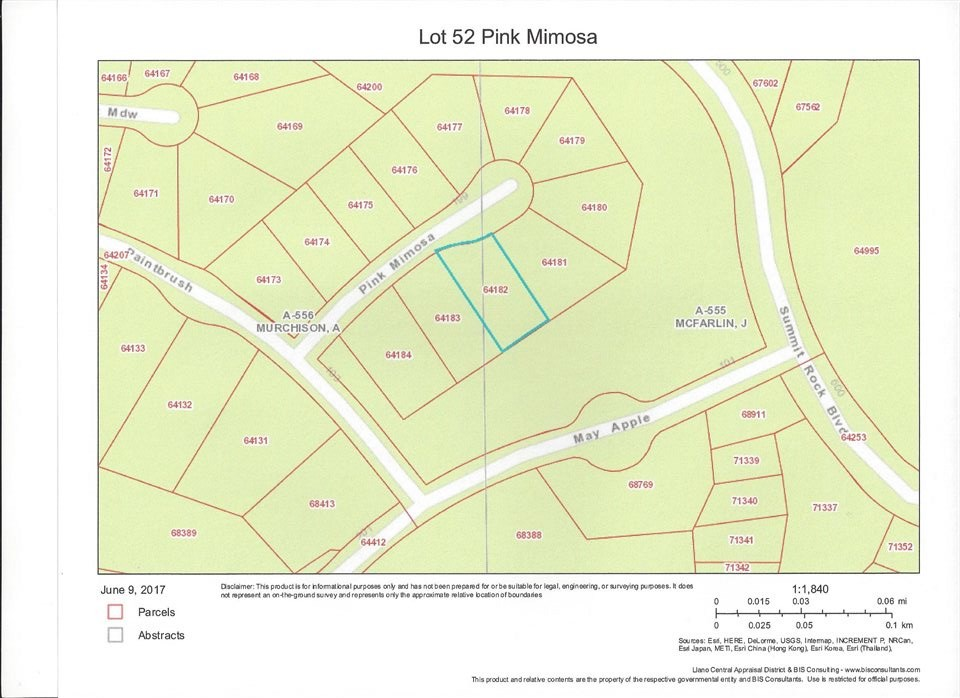 Additional photo for property listing at Lot 52 Pink Mimosa  Horseshoe Bay, Texas 78657 Estados Unidos