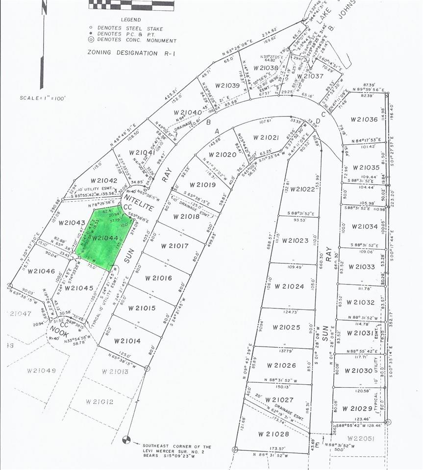 Land for Sale at W21044 Nite Lite/ Sun Ray Horseshoe Bay, Texas 78657 United States