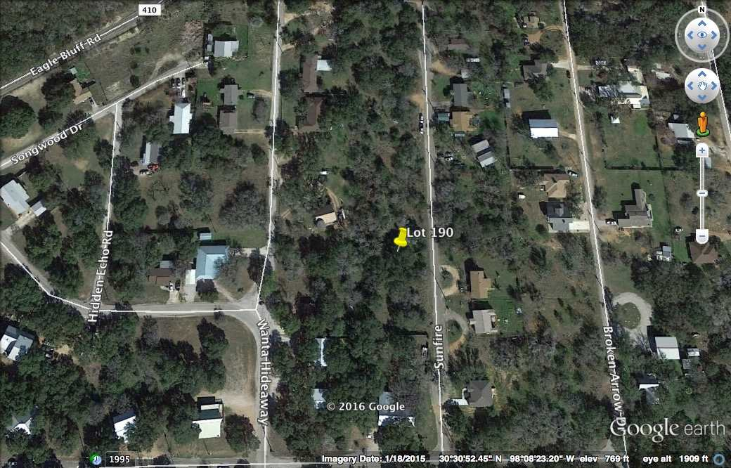 Land for Sale at Lot 190 Sunfire Drive Spicewood, Texas 78669 United States