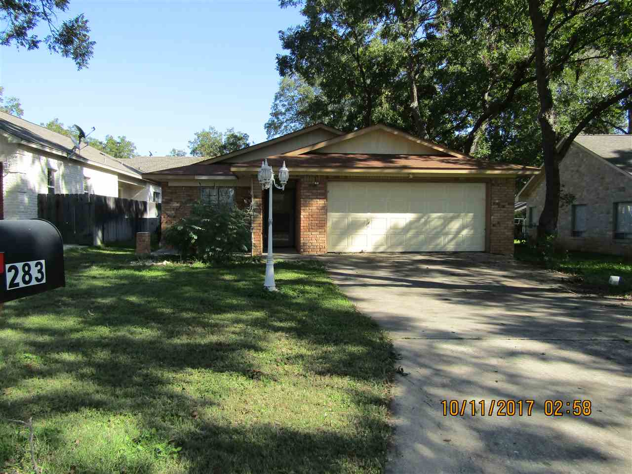 Single Family Home for Sale at 283 Turkey Run 283 Turkey Run Meadowlakes, Texas 78654 United States
