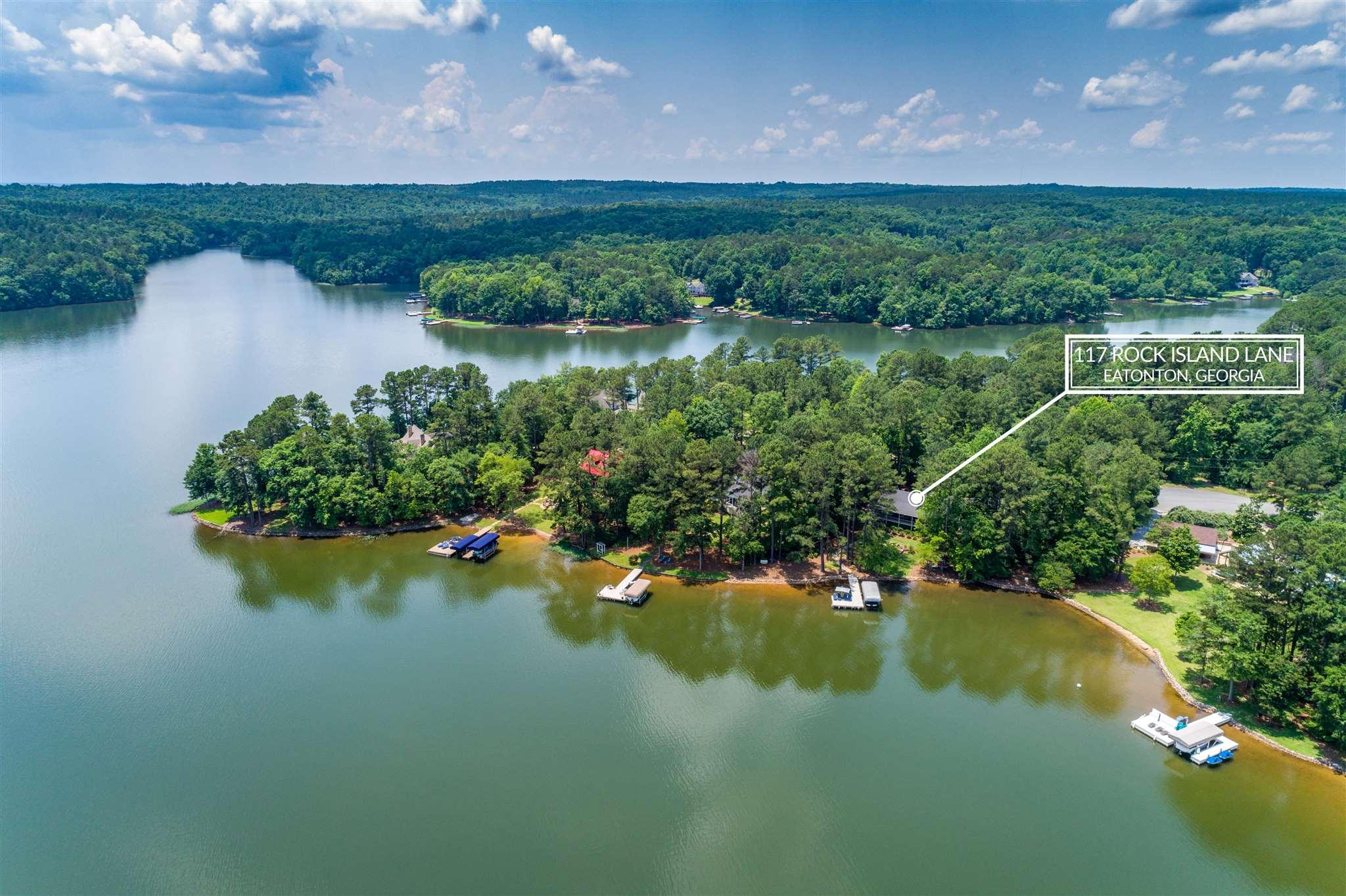 117 ROCK ISLAND LANE, Lake Oconee in Putnam County, GA 31024 Home for Sale