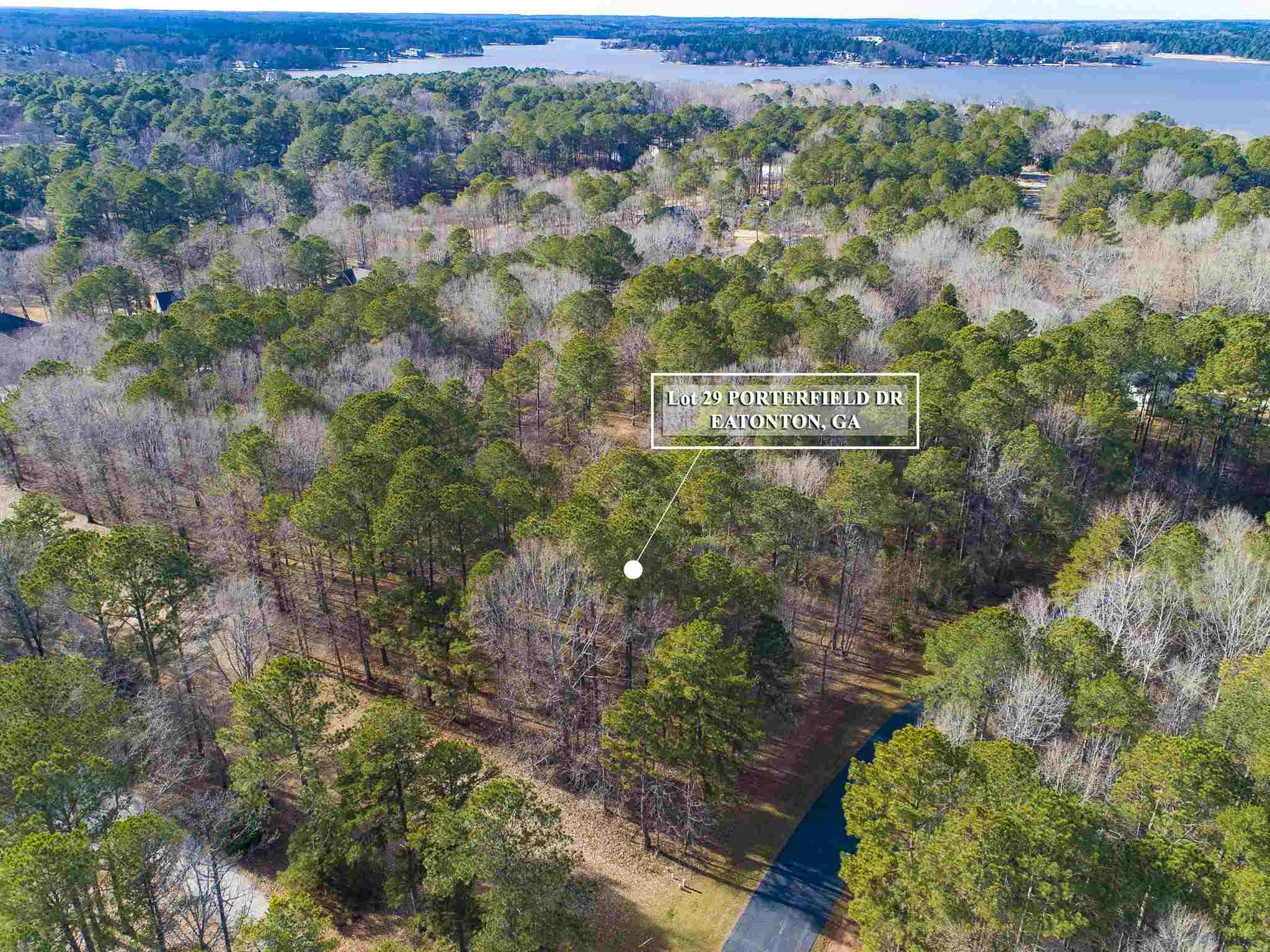 Lot 29 PORTERFIELD DRIVE AS, Lake Oconee in Putnam County, GA 31024 Home for Sale