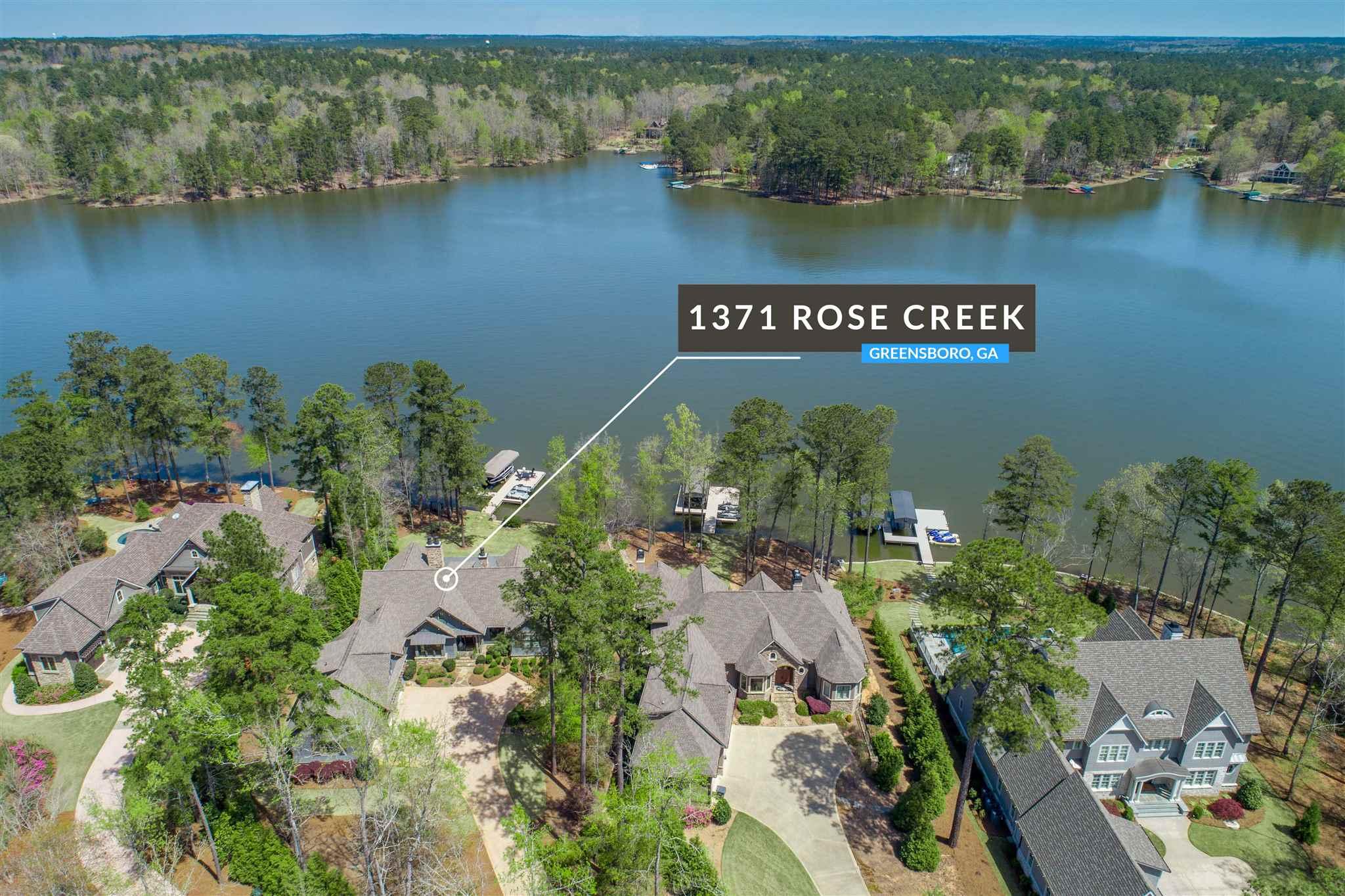 1371 ROSE CREEK ROAD, Lake Oconee, Georgia
