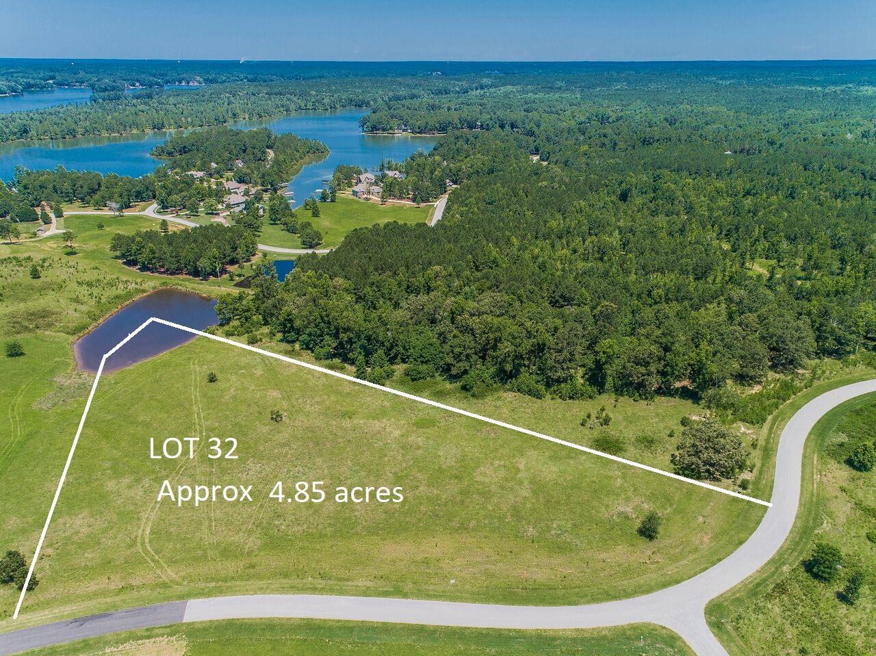 Lot 32 OCONEE LANDING DRIVE AS, Lake Oconee in Greene County, GA 30678 Home for Sale