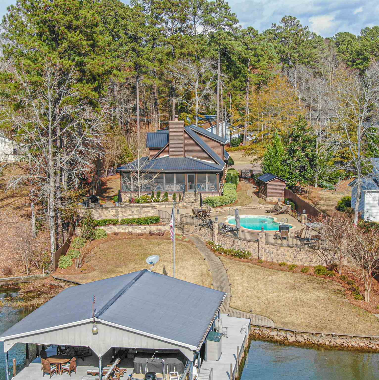 110 ASHWOOD POINT, Lake Sinclair in Putnam County, GA 31024 Home for Sale