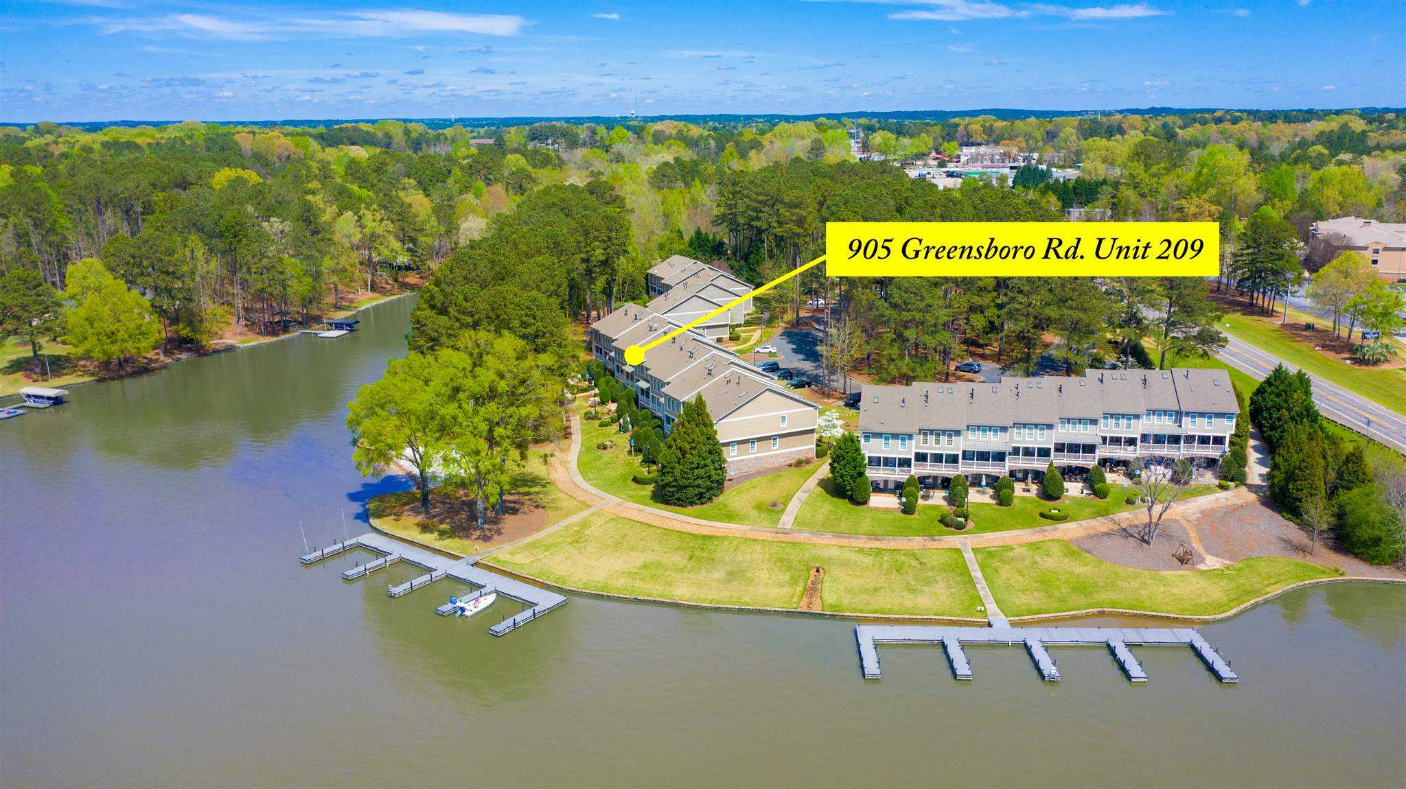 905  (Unit 209) GREENSBORO ROAD, Lake Oconee in Putnam County, GA 31024 Home for Sale