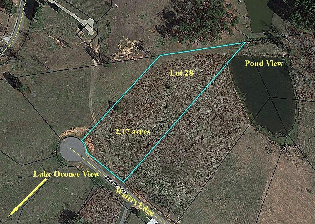 Lot 28 WATERS EDGE AS, Lake Oconee in Greene County, GA 30678 Home for Sale