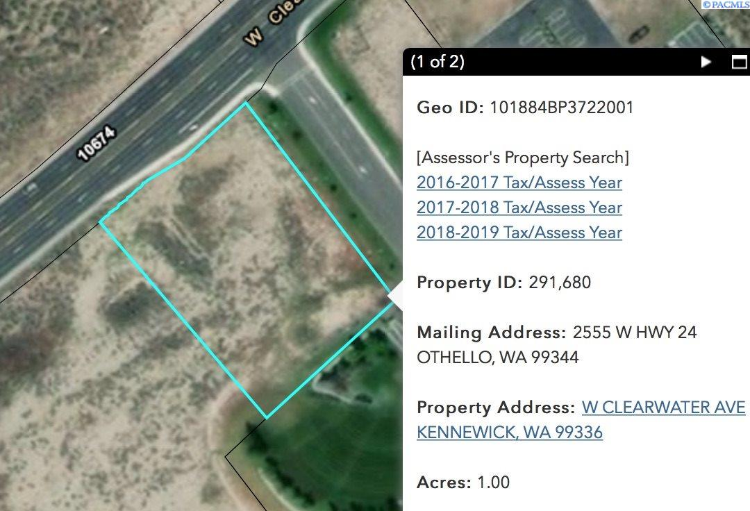 Land / Lots for Sale at 10615 W Clearwater 10615 W Clearwater Kennewick, Washington 99337 United States