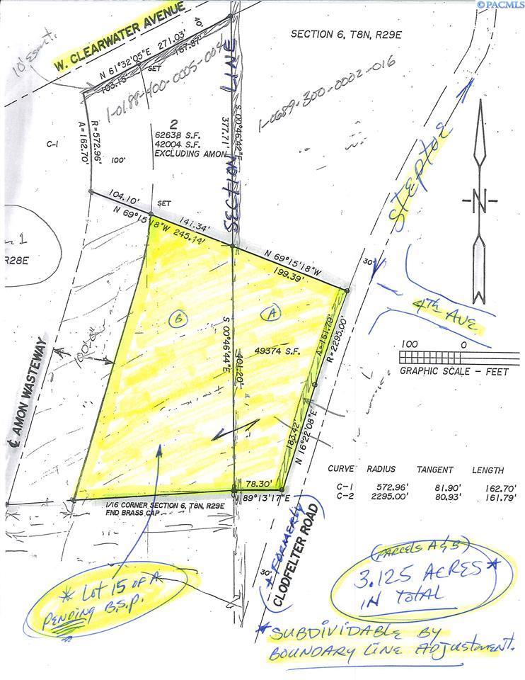 Land / Lots for Sale at 512 Steptoe 512 Steptoe Kennewick, Washington 99337 United States