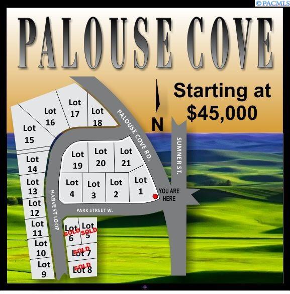 Land / Lots for Sale at 505 Harvest Loop 505 Harvest Loop Palouse, Washington 99161 United States