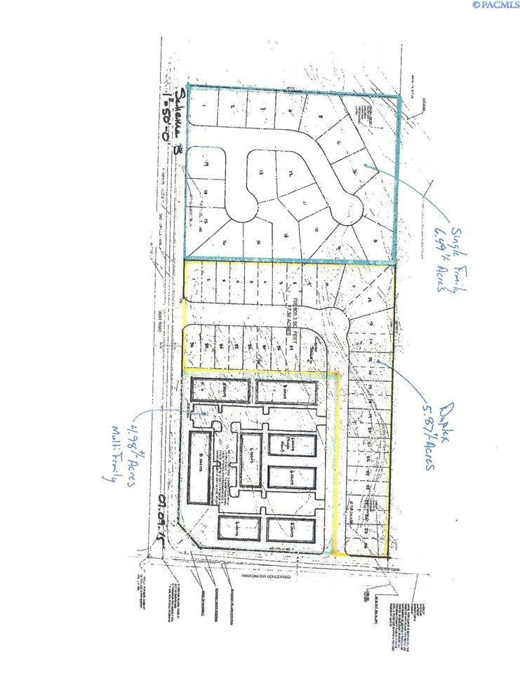 Land / Lots for Sale at Cka NW Corner Of Rd 100 & Burns Rd Pasco, Washington United States