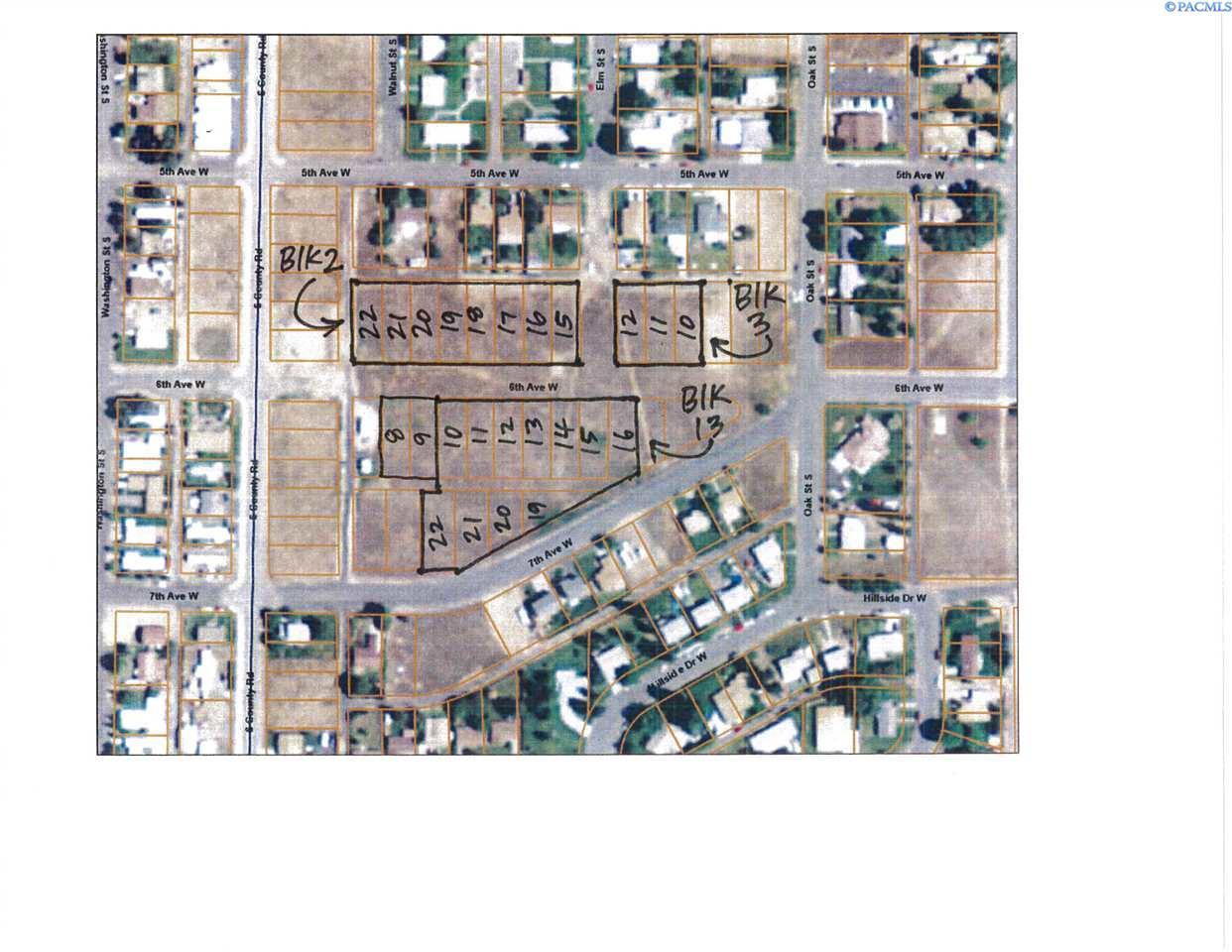 Land / Lots for Sale at 0 S Elm Warden, Washington United States