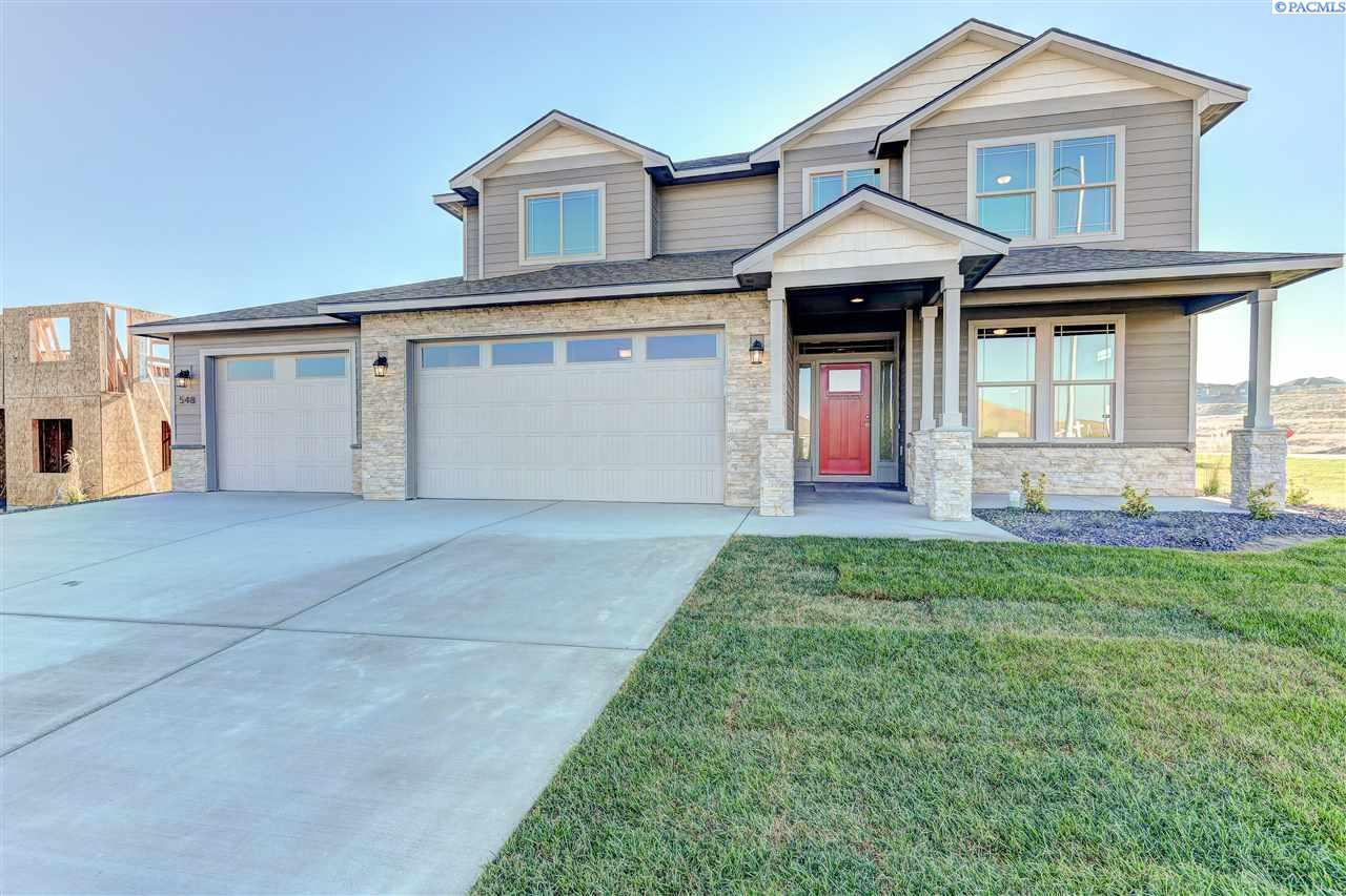 Single Family Home for Sale at 548 Athens Drive 548 Athens Drive West Richland, Washington 99353 United States