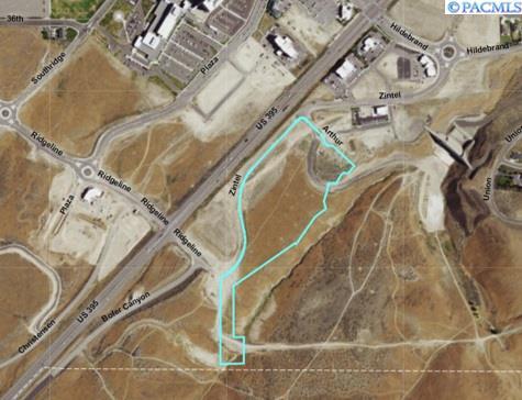 Land for Sale at 4001 S Zintel Way 4001 S Zintel Way Kennewick, Washington 99338 United States