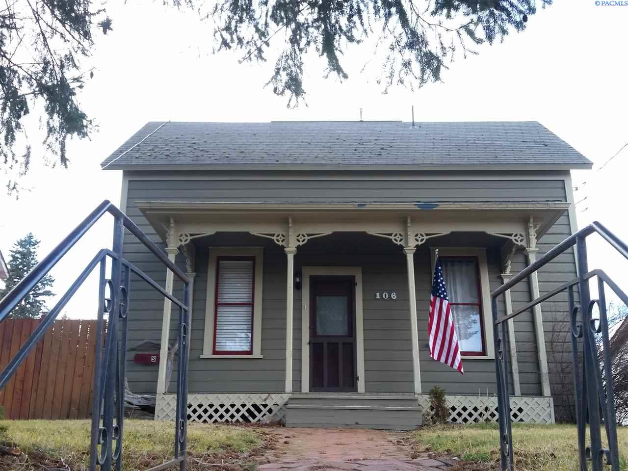 Single Family Home for Sale at 106 S Montgomery 106 S Montgomery Uniontown, Washington 99179 United States