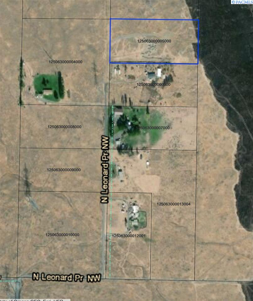 Land for Sale at 74009 N Leonard PR NW Benton City, Washington 99320 United States