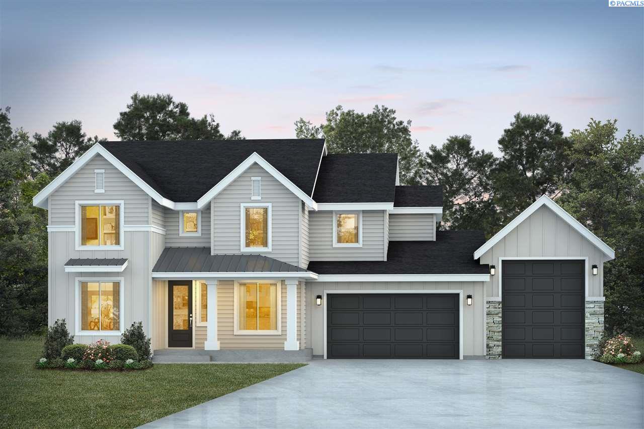 Single Family Homes for Sale at TBD LOT 8 Ridge View Lane Kennewick, Washington 99338 United States