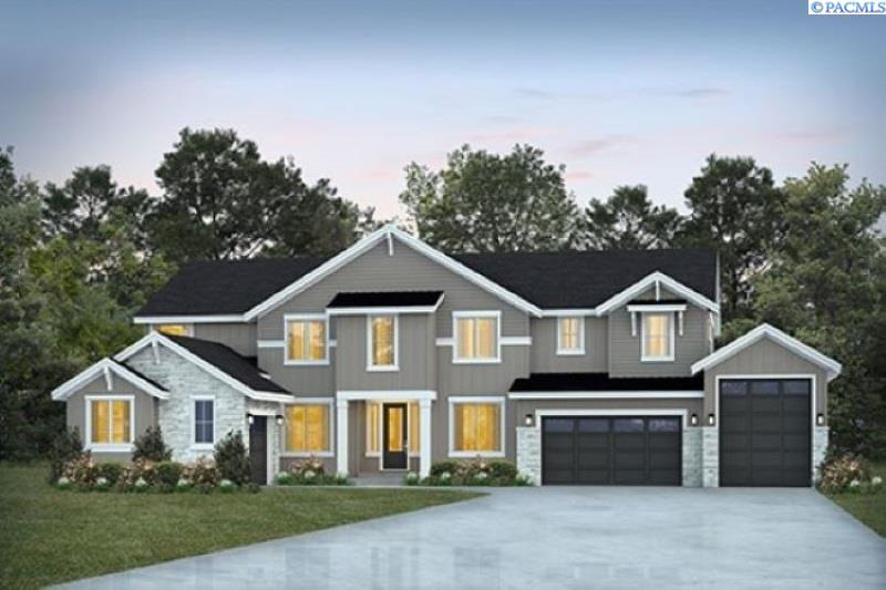 Single Family Homes for Sale at TBD Lot 4 Ridge View Lane Kennewick, Washington 99338 United States