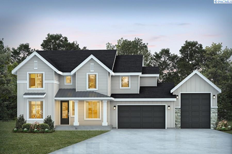 Single Family Homes for Sale at TBD Lot 12 Ridge View Lane Kennewick, Washington 99338 United States
