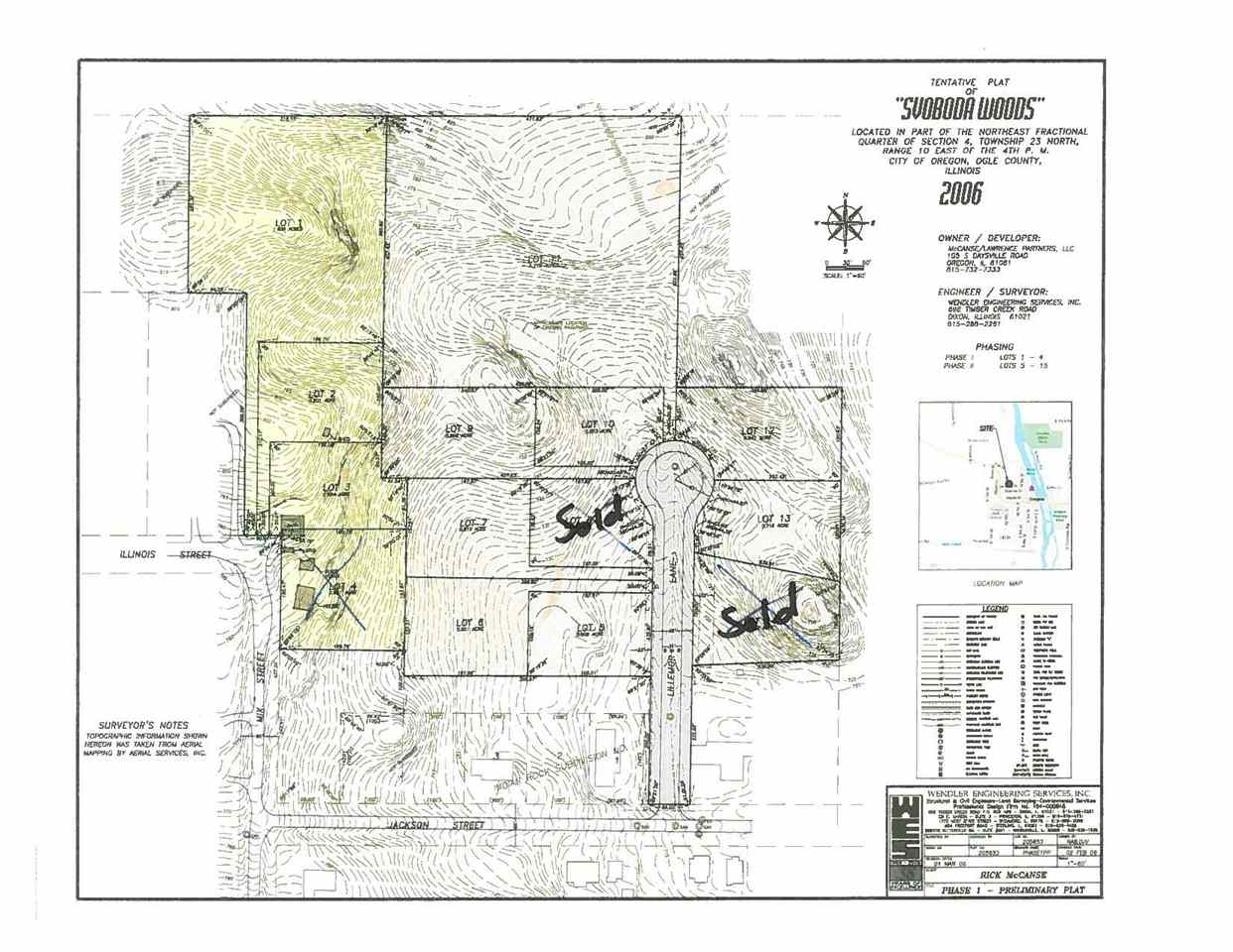 400 LILLEMOR Lane OREGON IL Lots and Land Property Listing