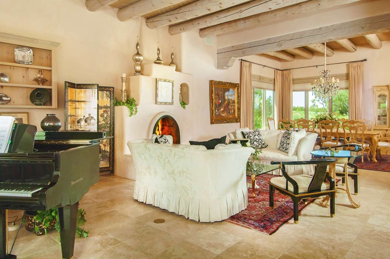 Single Family Home for Sale at 9 Cinco Pintores Santa Fe, New Mexico 87506 United States