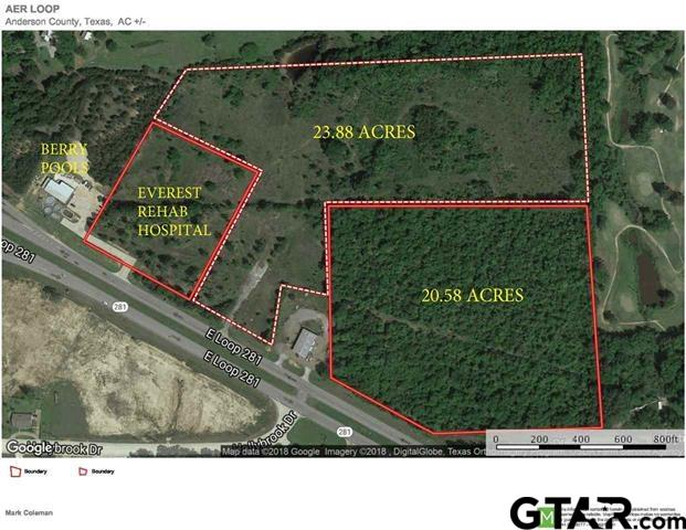 Property for sale at 23.88 AC E LOOP 281, Longview,  TX 75605