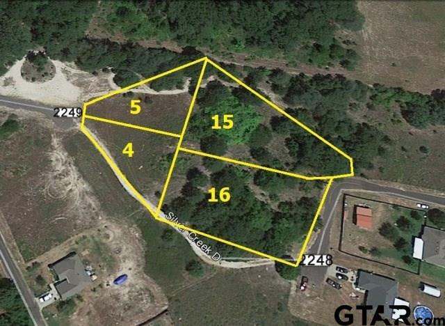 LOT 15, 16 CR 2249 Holbrook Estates Unit J, Mineola, TX 75773