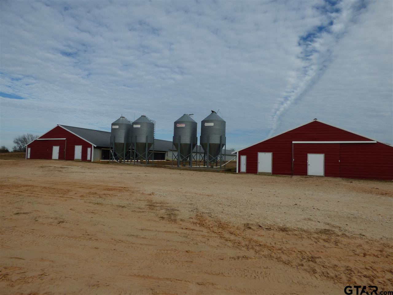 2 INCOME PRODUCING POULTRY FARMS.  BOTH OF THE FARMS AVE 6/500 FT POULTRY HOUSES .  THIS FARM, BUILT IN 2003, FEATURE THE 6/ 500 FT STEEL HOUSES AS WELL AS AN INSULATED SHOP, COMPOSTER, AND INCINERATOR. THIS FARM IS WELL MAINTAINED.  THERE ARE 2/ 500+ FT WELLS.  CUMBERLAND FEEDERS, PLASSON WATER, AND LB WHITE BROODERS.  BUYERS MUST BE APPROVED AS A GROWER THROUGH PILGRIMS AND BE PREAPPROVED FOR FINANCING.