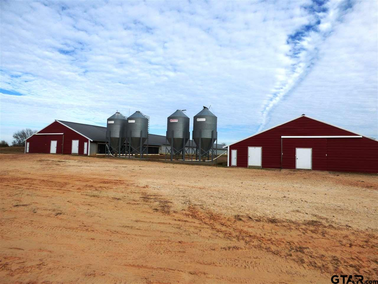 6/500 FT POULTRY HOUSES .  THIS FARM, BUILT IN 2003, FEATURE THE 6/ 500 FT STEEL HOUSES AS WELL AS AN INSULATED SHOP, COMPOSTER, AND INCINERATOR. THIS FARM IS WELL MAINTAINED.  THERE ARE 2/ 500+ FT WELLS.  CUMBERLAND FEEDERS, PLASSON WATER, AND LB WHITE BROODERS.  BUYERS MUST BE APPROVED AS A GROWER THROUGH PILGRIMS AND BE PRE-APPROVED FOR FINANCING.