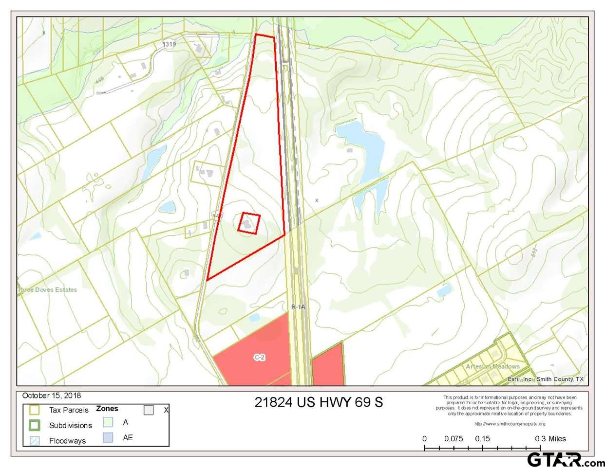 Property for sale at 21824 S Hwy 69, Bullard,  TX 75757