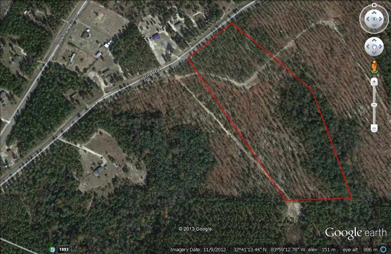 Horne road Roads, Roberta, GA 31078