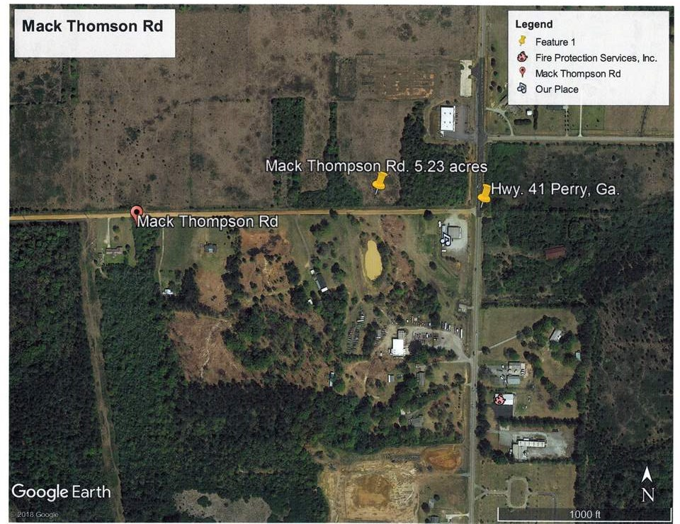 Lot 15/16 Mack Thompson Road, Perry, GA