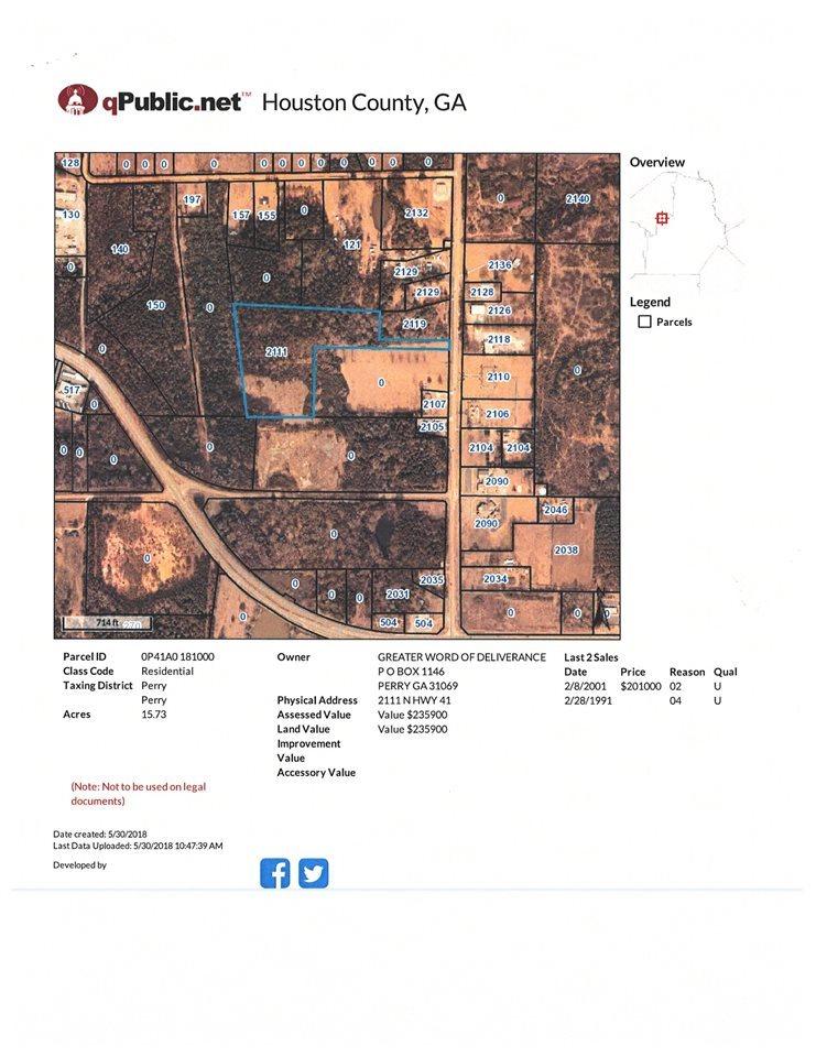 Map Of Highway 41 In Georgia.2111 N Hwy 41 Perry Ga 31069 Ken Wilson Realtor