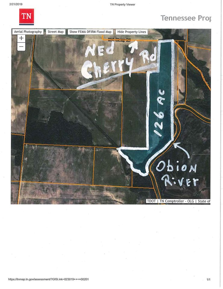 0 Ned Cherry, Bogota, Tennessee 38240, ,Lots/land,For Sale,0 Ned Cherry,186940