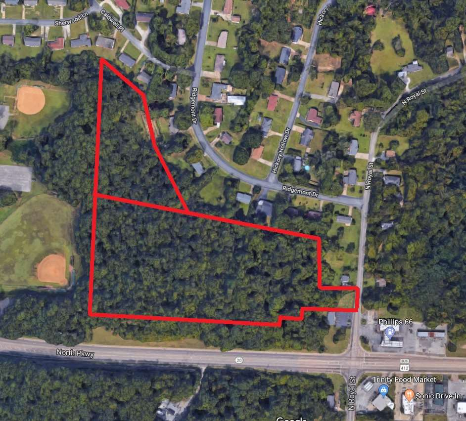 00 N royal, jackson, Tennessee 38305, ,Lots/land,For Sale,00 N royal,187548