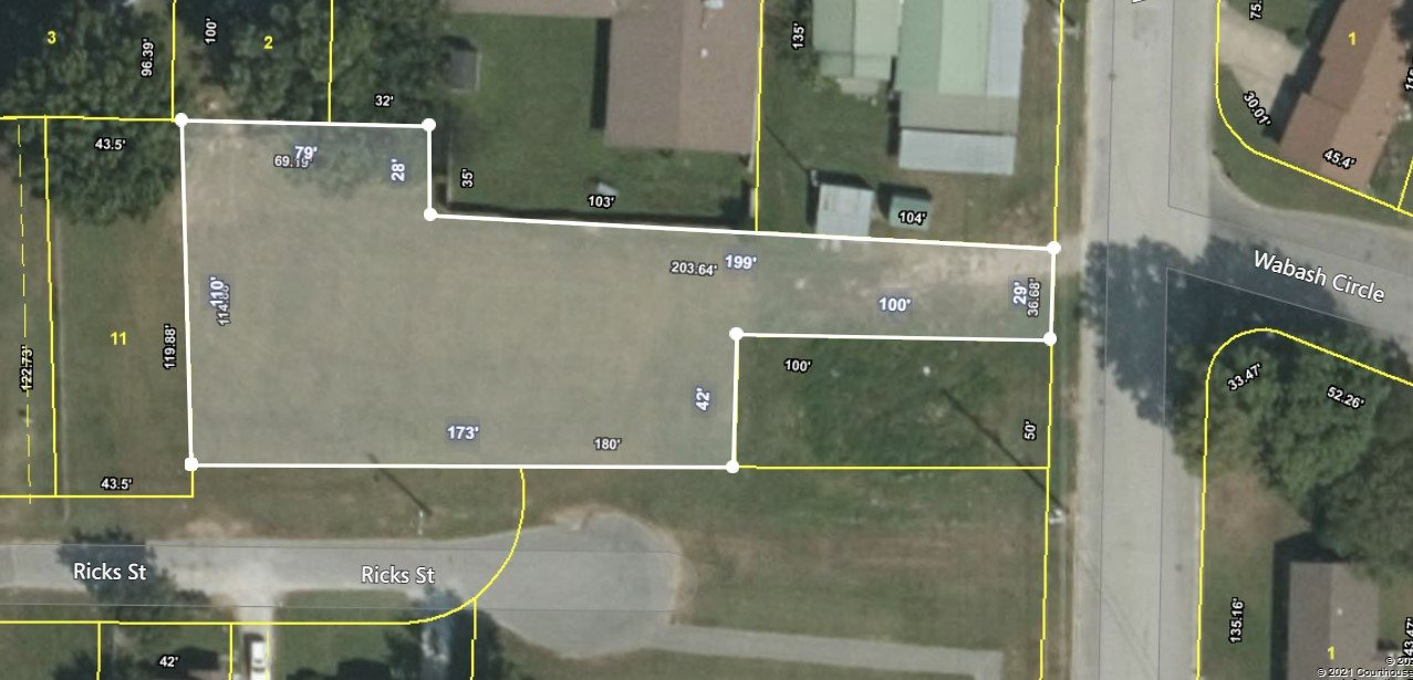 00 Wabash Avenue, Dyersburg, Tennessee 38024, ,Lots/land,For Sale,00 Wabash Avenue,206243