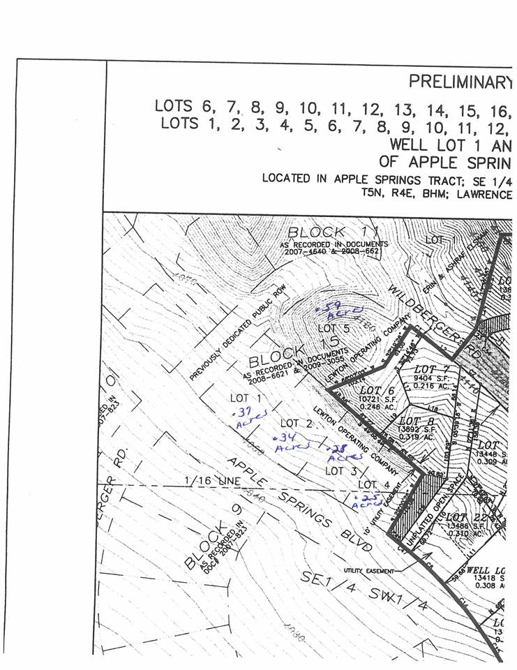 Lot 1 Apple Springs Road