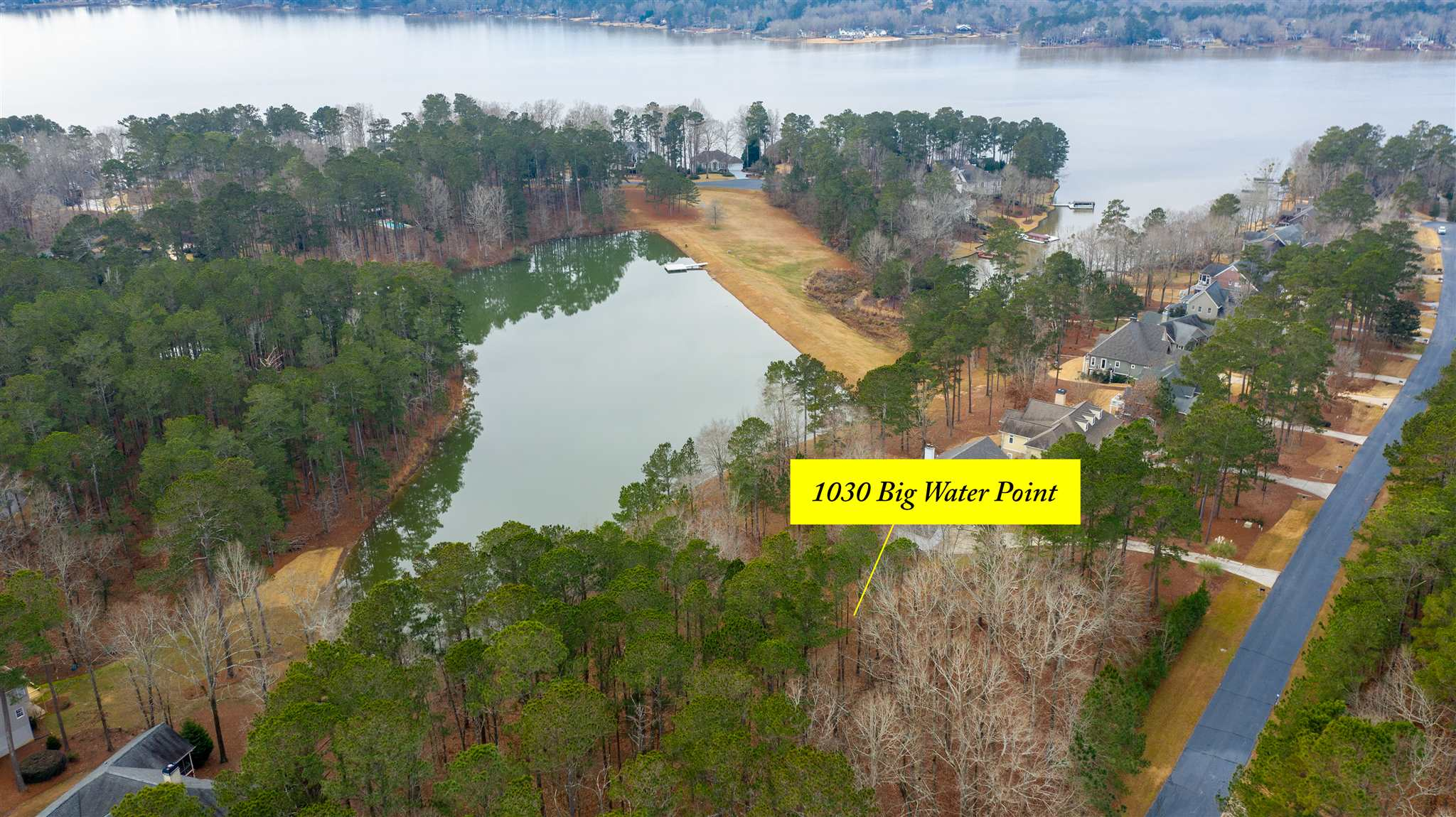 Property for sale at 1030 BIG WATER POINT, Greensboro,  Georgia 30642