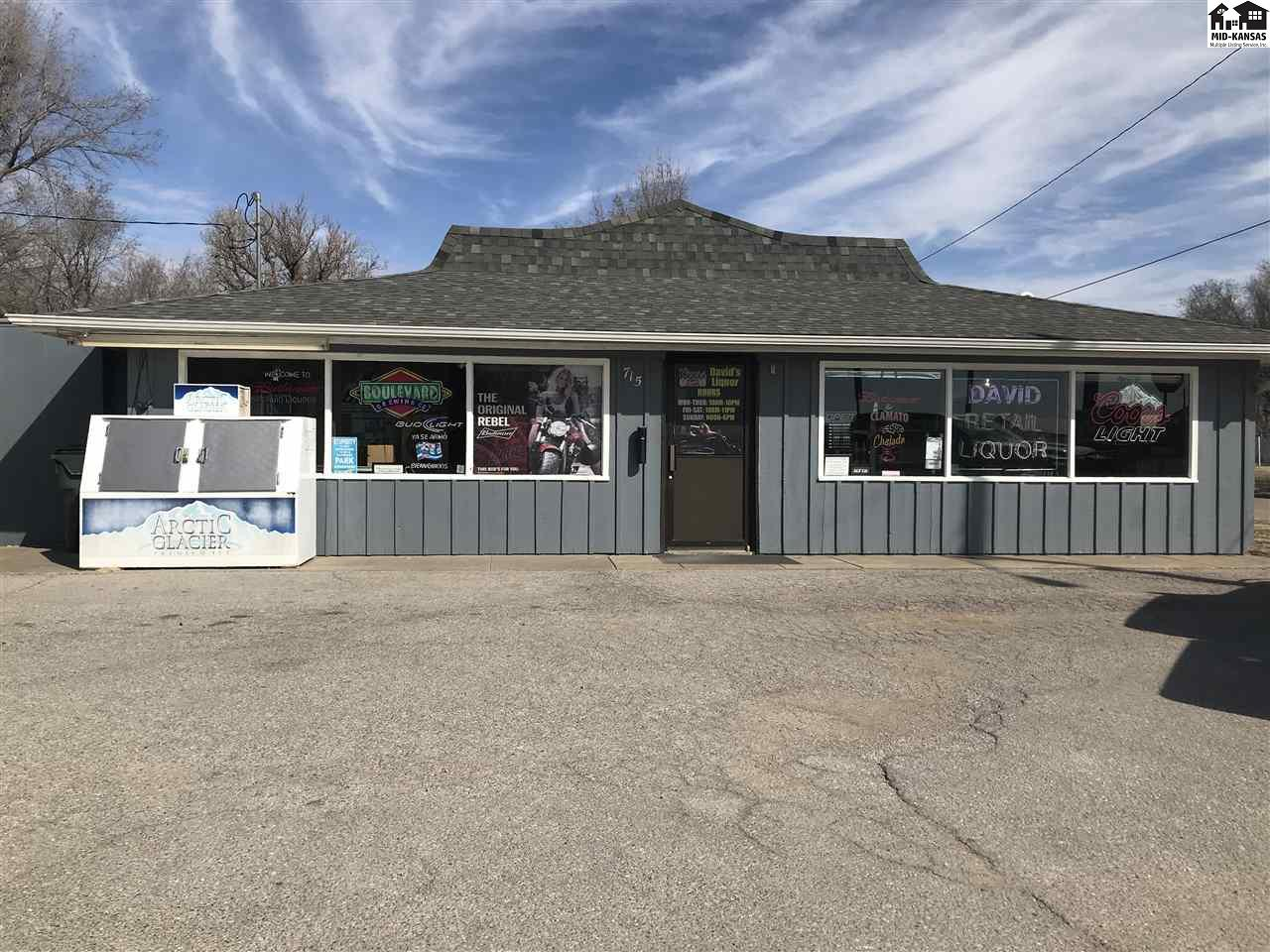 If you want to have your prices set and hours set, this is an opportunity for you!  This Retail Liquor Store sits on the East Edge of town close to the Celebration Center and the Old Skating Rink, would be close to get more beverages quickly for events being held there.  The purchase included all inventory (which changes, but could narrow the value down at time of purchase) all new equipment added, building value and a small shed with a car port is included.  Great opportunity to become a business owner.