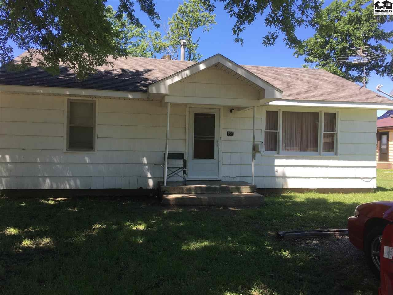 This is a great opportunity to purchase a rental home. It has a tenant in place with a lease agreement. This rental is a 2 bedroom, 1 bath house located just south of East Main street in Lyons.