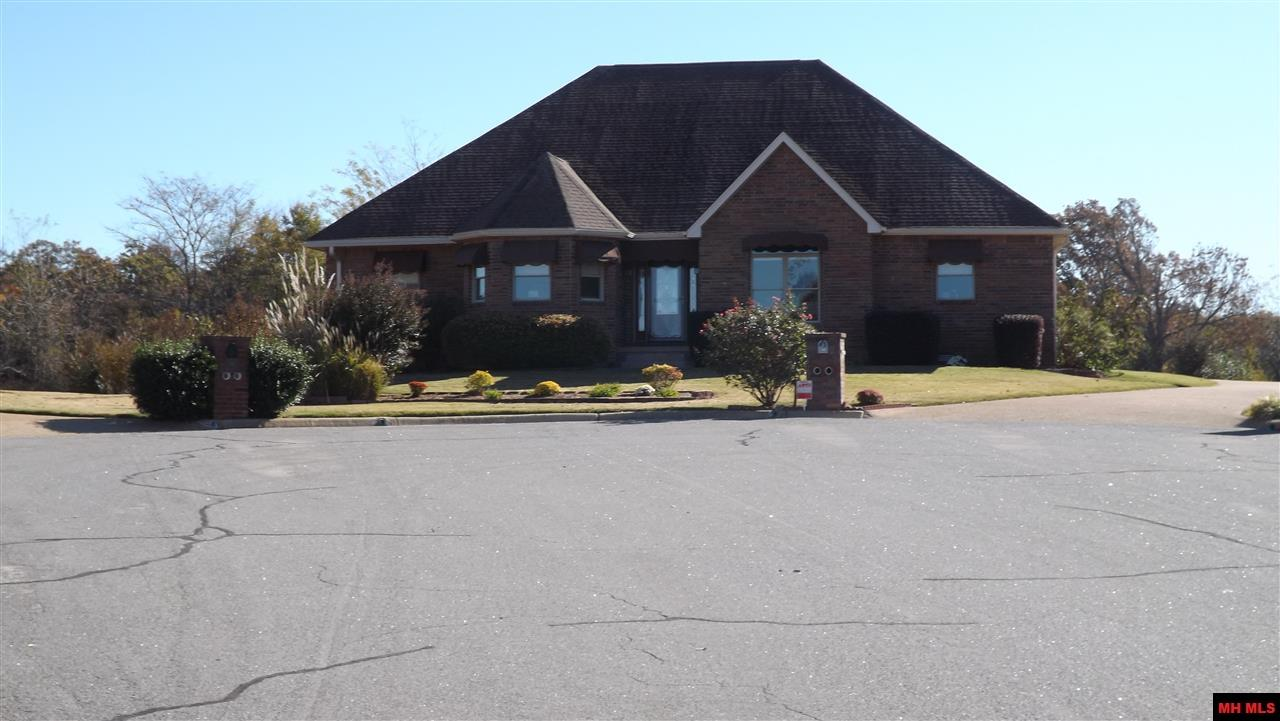 Big Creek country living at its best - 3BR/ 2 1/2BA, all brick, granite, stainless, all OC flooring, security system, air filtration system, wired for generator, generator, storm shelter in 2 1/2 garage, geo thermal heat, central vac, water softener, custom landscaping and open rear deck. Plenty of room for a pool. Lots of wildlife.