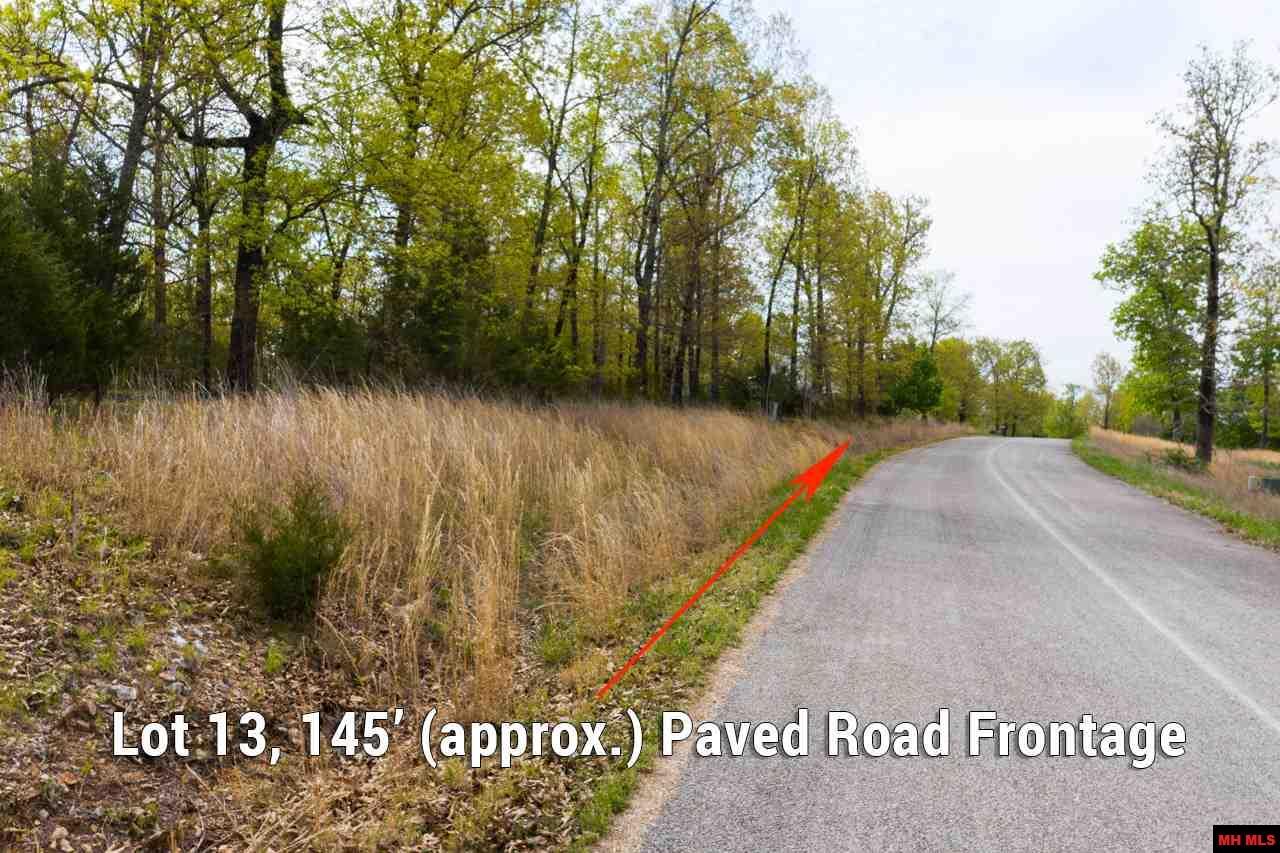 Lot 13 NOE CREEK ROAD | Mountain Home, AR