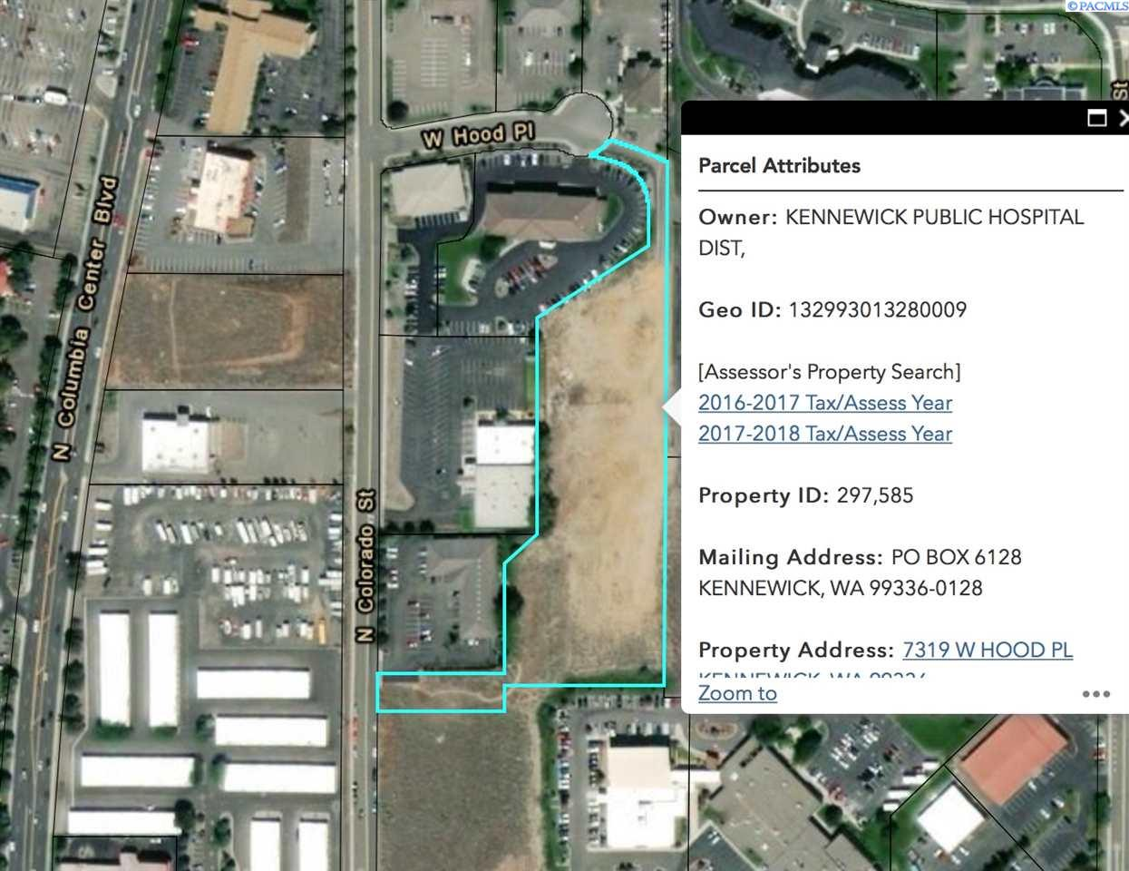 Land for Sale at 7319 W Hood Place Kennewick, Washington 99336 United States
