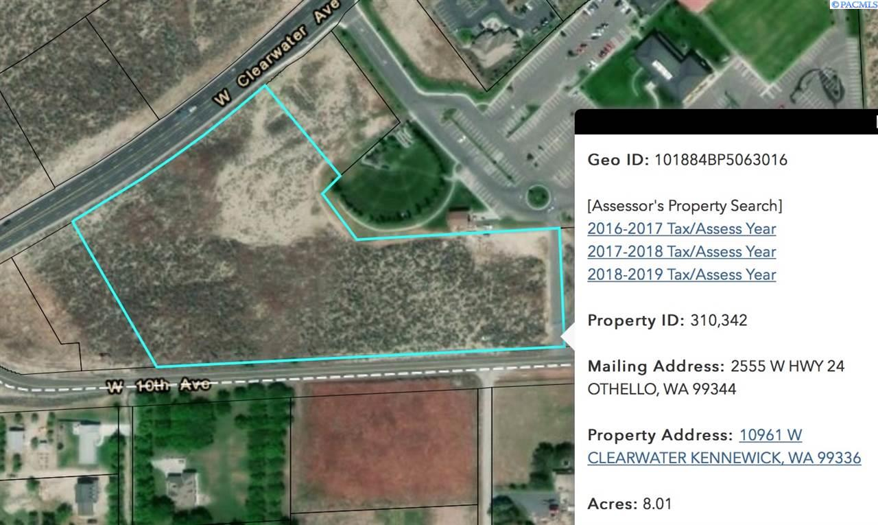 Land for Sale at 10961 W Clearwater Kennewick, Washington 99336 United States