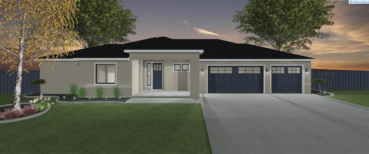 Single Family Homes for Sale at Lot 6 King Court West Richland, Washington 99353 United States
