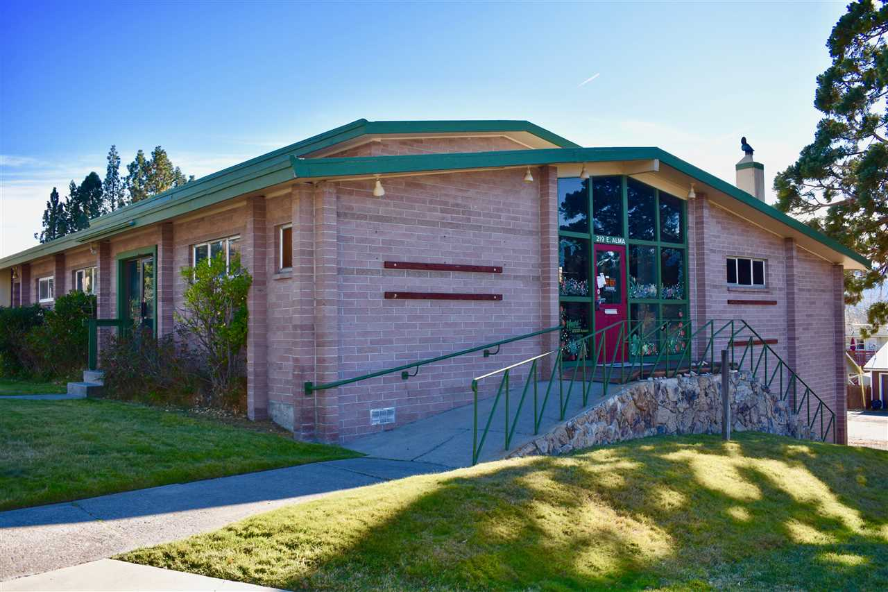 A Rare Mt. Shasta commercial opportunity on the corner of Alma and Alder Streets. Approximately 3400 square-foot building with 10 separate offices, Three bathrooms, large open entry, basement with plenty of room for parking and expansion.