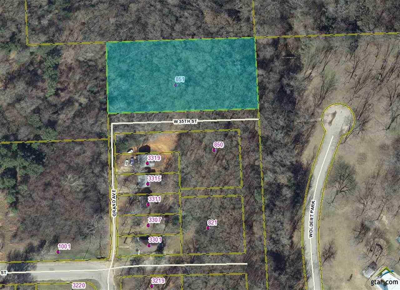 1.5 ACRE LOT LOCATED IN NORTH TYLER GREAT POTENTIAL FOR NEW HOME CONSTRUCTION, RENTAL HOMES, CITY USE ADJACENT TO WOLDERT PARK